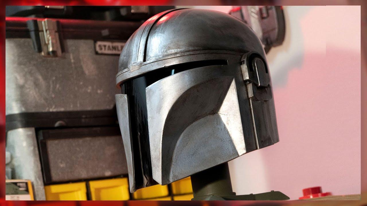 Making The Mandalorian Helmet
