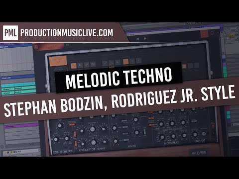 Melodic Techno Production Session with Ableton + MINI V3 (Stephan Bodzin, Rodriguez Jr. Style)