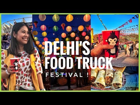 Food Truck Festival In Delhi! #QuirkyEats Ep.5 |HornOKPlease