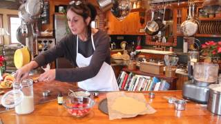 You have GOT to time me on this one! I make my rustic strawberry ga...