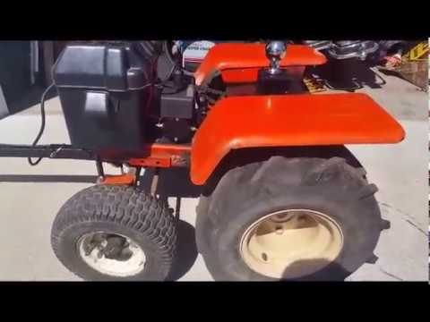 Electric Trailer Dolly >> Trailer Dolly / Tug Built from a lawn tractor that is ...