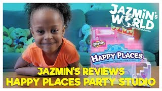 Jazmin Reviews Shopkins Happy Places Happy Home Party Studio