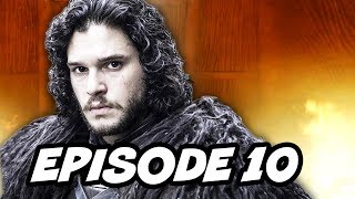 Game Of Thrones Season 5 Episode 10 Finale - TOP 10 WTF
