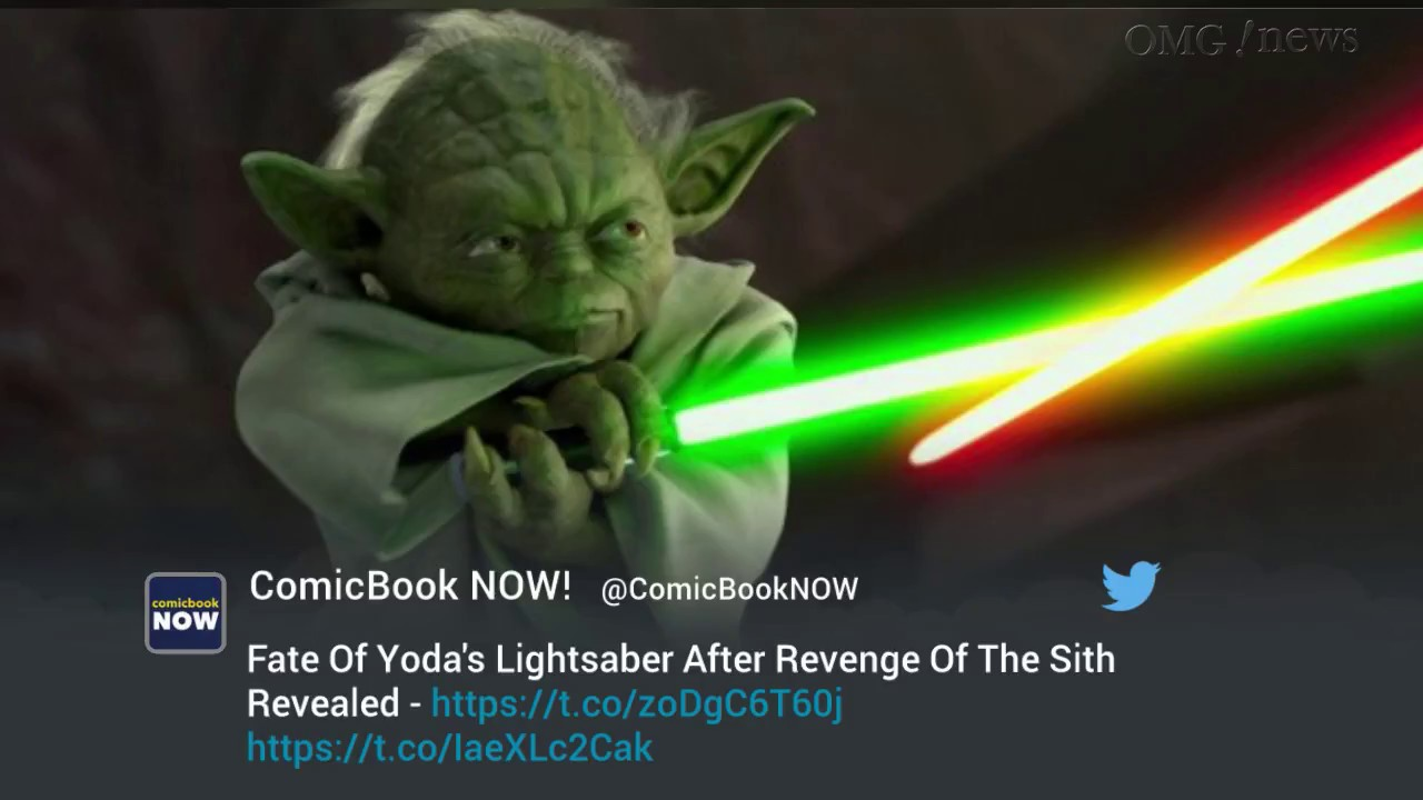 Fate Of Yoda S Lightsaber After Revenge Of The Sith Revealed Youtube