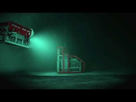 ROVDrill seabed drilling module animation clip