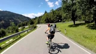 Mountainbike Abfahrt von Kaning nach Radenthein Nähe Millstätter See