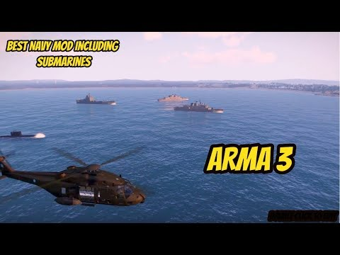 ARMA 3 - Navy mod including ships and submarines by HAFM- Hellenic Navy