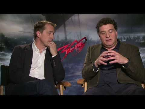 300: Rise Of An Empire (2014) Exclusive Noam Murro & Kurt Johnstad Interview [HD]