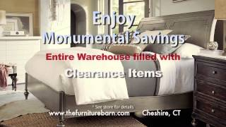 Furniture Barn In Cheshire, Connecticut's Annual Factory Authorized Presidents Day Sale.