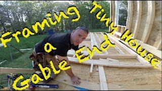 Tiny House - Framing A Gable End