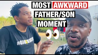 Most Awkward Father/Son Moment! Did he really say that?- Meet The Mitchells