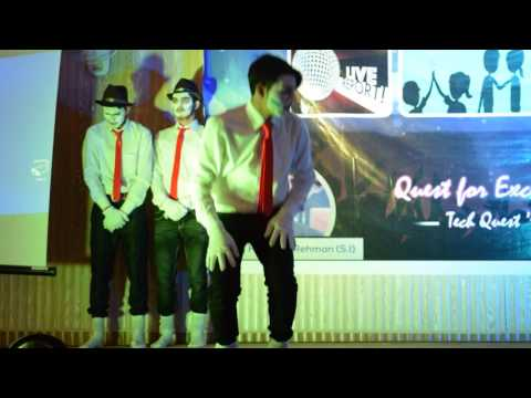 best and funny silent drama ,mimes by MUST student AJ&K