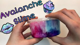 DIY Avalanche slime