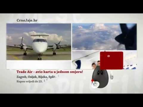 Crno Jaje - Trade Air Avio Karte - Hotel Bjelašnica Sarajevo - City Hotel Mostar