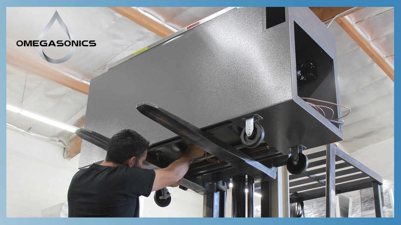 Industrial and Commercial Ultrasonic Cleaners of Choice | Omegasonics