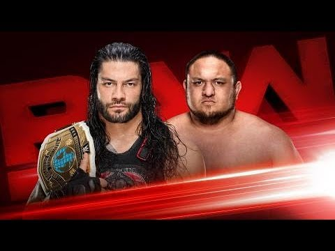 WWE 2K18 - Roman Reigns vs Samoa Joe: WWE Intercontinental Championship thumbnail