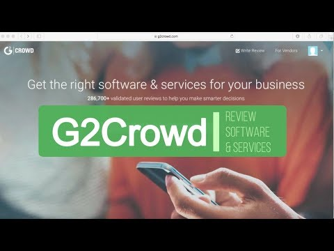 Get Paid with Gift Cards to Review Software and Services at G2Crowd.com
