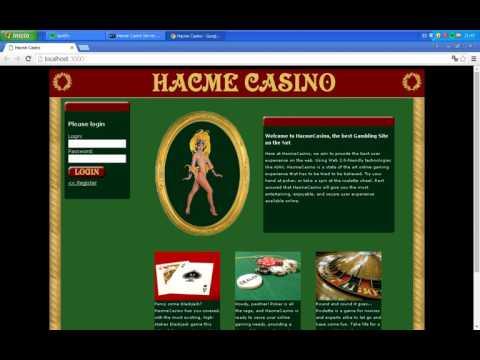 Hackeando un casino online clase 1