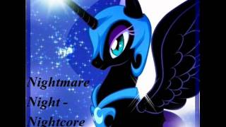 Repeat youtube video Nightmare Night - Nightcore