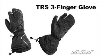 Castle X TRS 3-Finger Snowmobile Gloves