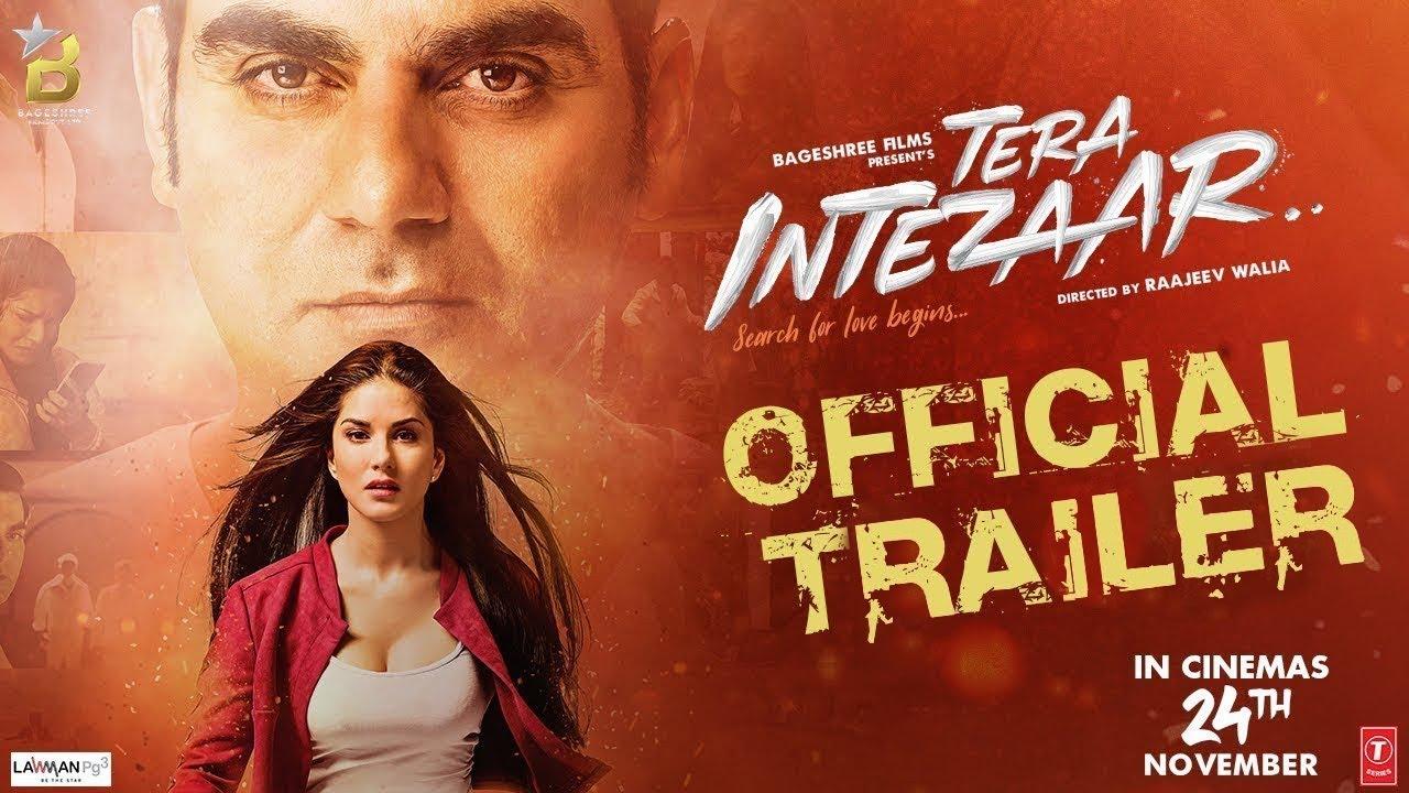 Official Trailer: Tera Intezaar | Sunny Leone | Arbaaz ...