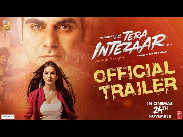 Official Trailer: Tera Intezaar | Sunny Leone | Arbaaz Khan |Raajeev Walia | Bageshree Films |24 Nov