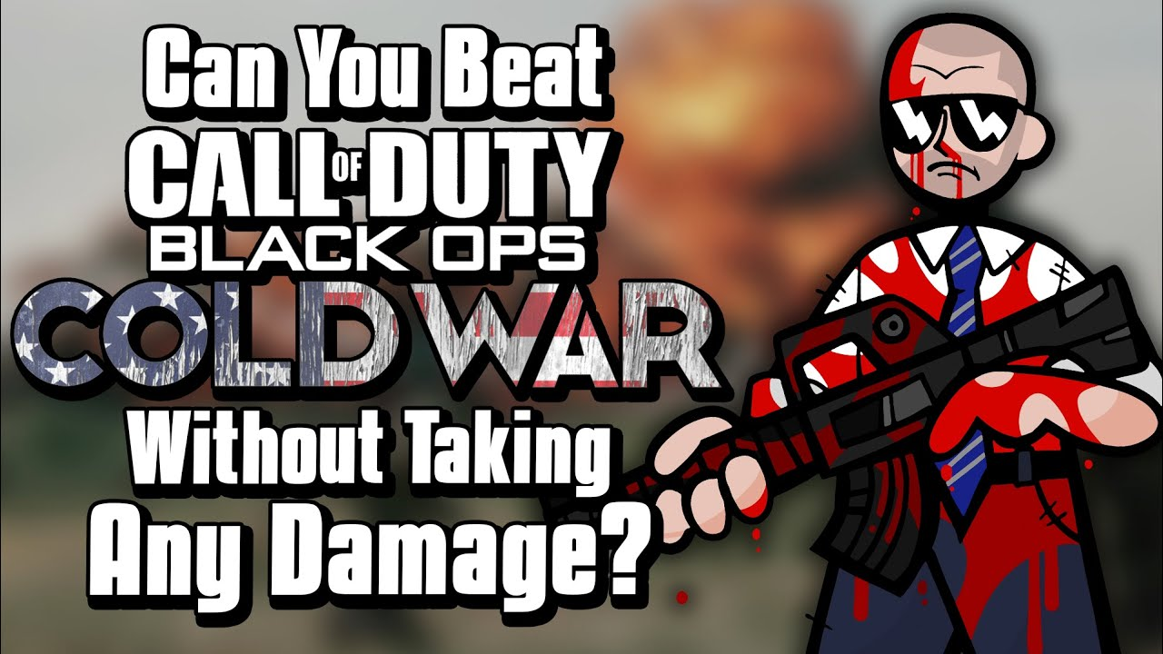Can You Beat Black Ops Cold War Without Taking Any Damage?