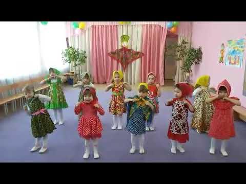 Танец матрешек. 2 младшая группа