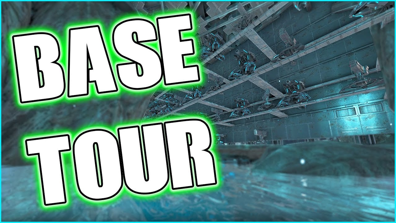 SEASON 5 BASE TOUR AND BUILDING PEARL CAVE - MTS MAIN CLUSTER S5 Ep 17 - Ark: Survival Evolved