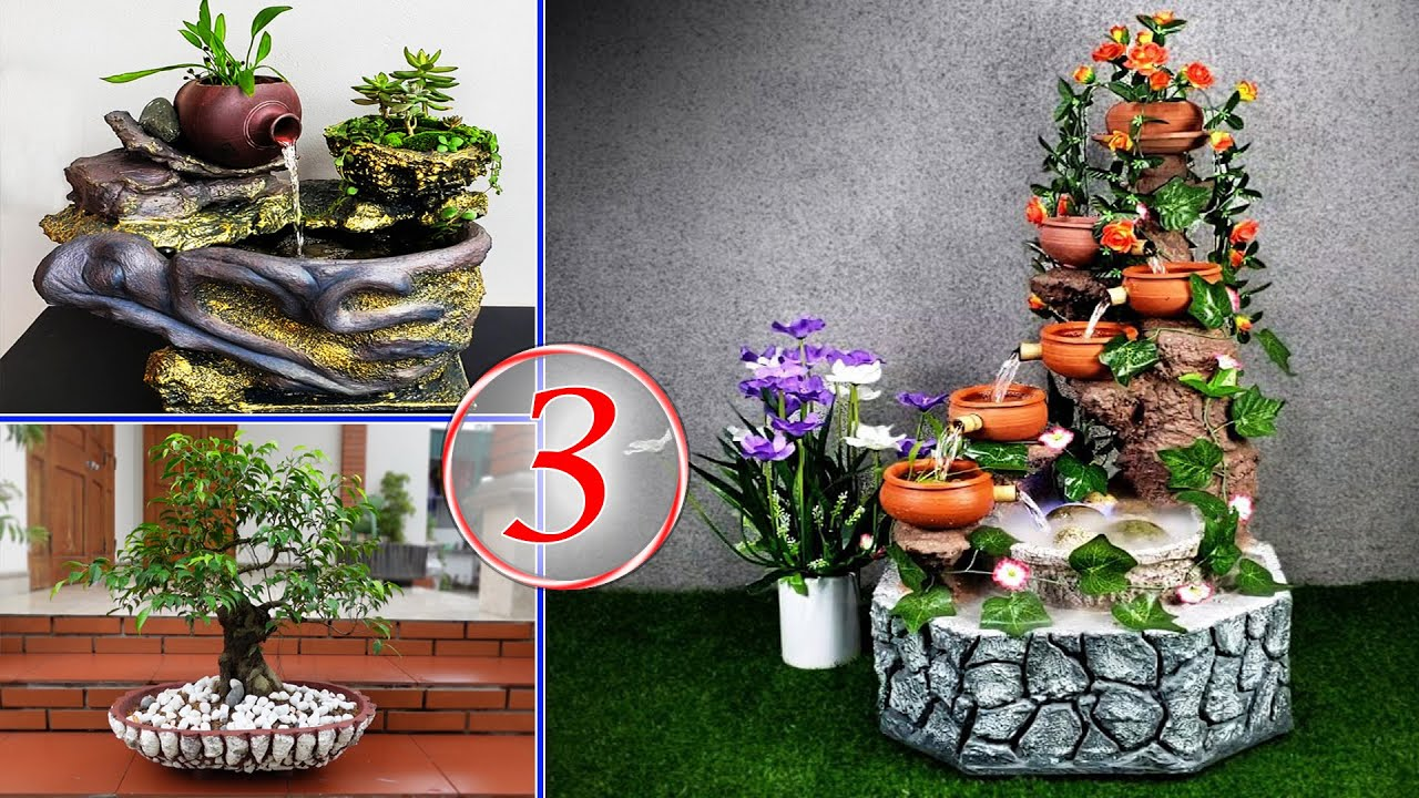 Creative Ideas from Styrofoam Box and Cement