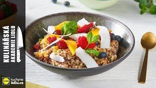 Snídaně s quinoou a ovocem - Roman Paulus - Kulinářská Akademie Lidlu
