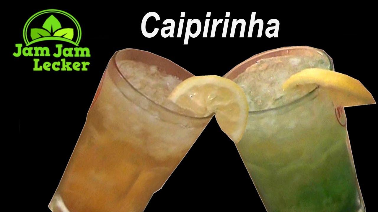 caipirinha zitrone cocktail rum crushed ice selber machen rezept youtube. Black Bedroom Furniture Sets. Home Design Ideas
