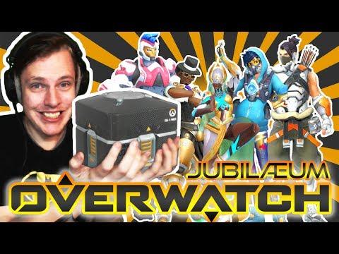 [Dansk] Overwatch Lootbox Unboxing: JUBILÆUM! (36 Loot Boxes)