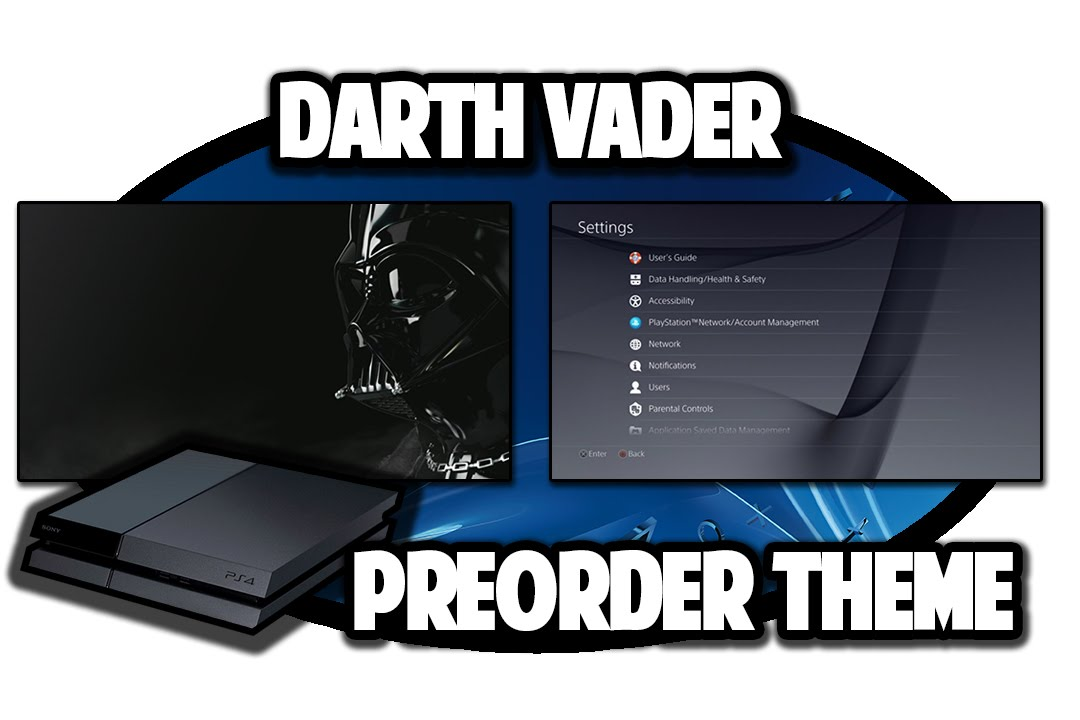 [PS4 THEMES] Star Wars Battlefront: Darth Vader Dynamic