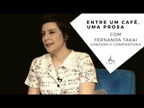 Entre um Café, uma Prosa com Fernanda Takai