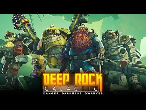 Mining is a scary business : deep rock galactic
