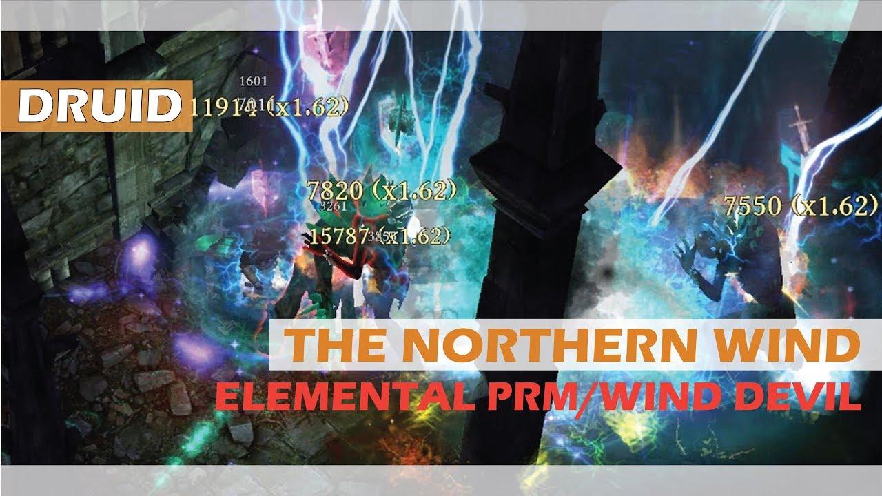 Grim Dawn - Druid - The Northern Wind - Port Valbury by Viperzol5