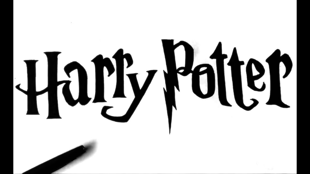 Harry potter schrift