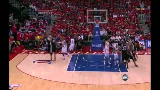 Tim Duncan 19 points (nice block on Blake Griffin) vs Clippers full highlights GM3 NBA Playoffs 2012
