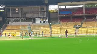 Watch sarfaraz Khan batting in RCB nets 2018 | ESALA CUP NAMDE.