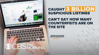 Amazon touts effort to crack down on counterfeits amid complaints