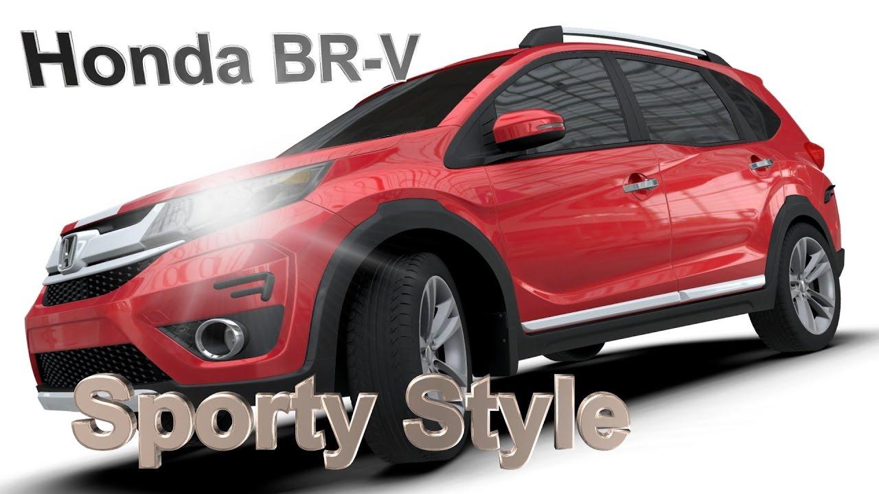 Aerokitz, Aksesoris Modifikasi Honda BRV (Sporty Style