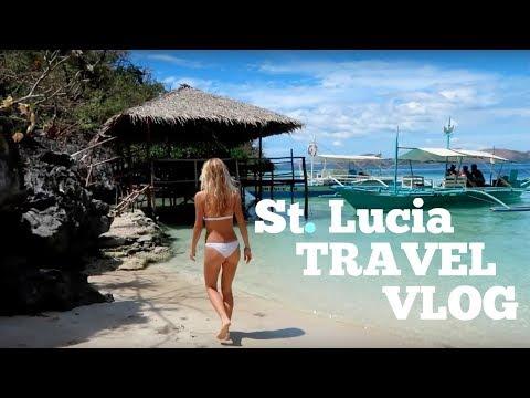 ST LUCIA - TRAVEL VLOG