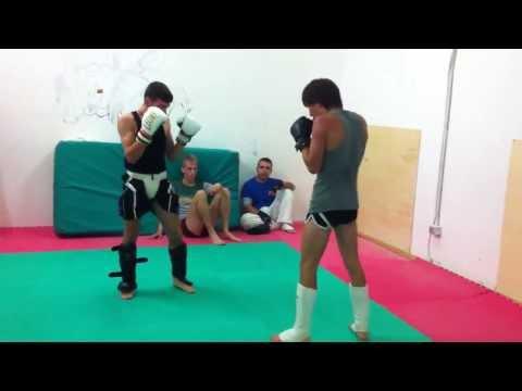 Palestra futura sport Ponsacco sessione di sparring