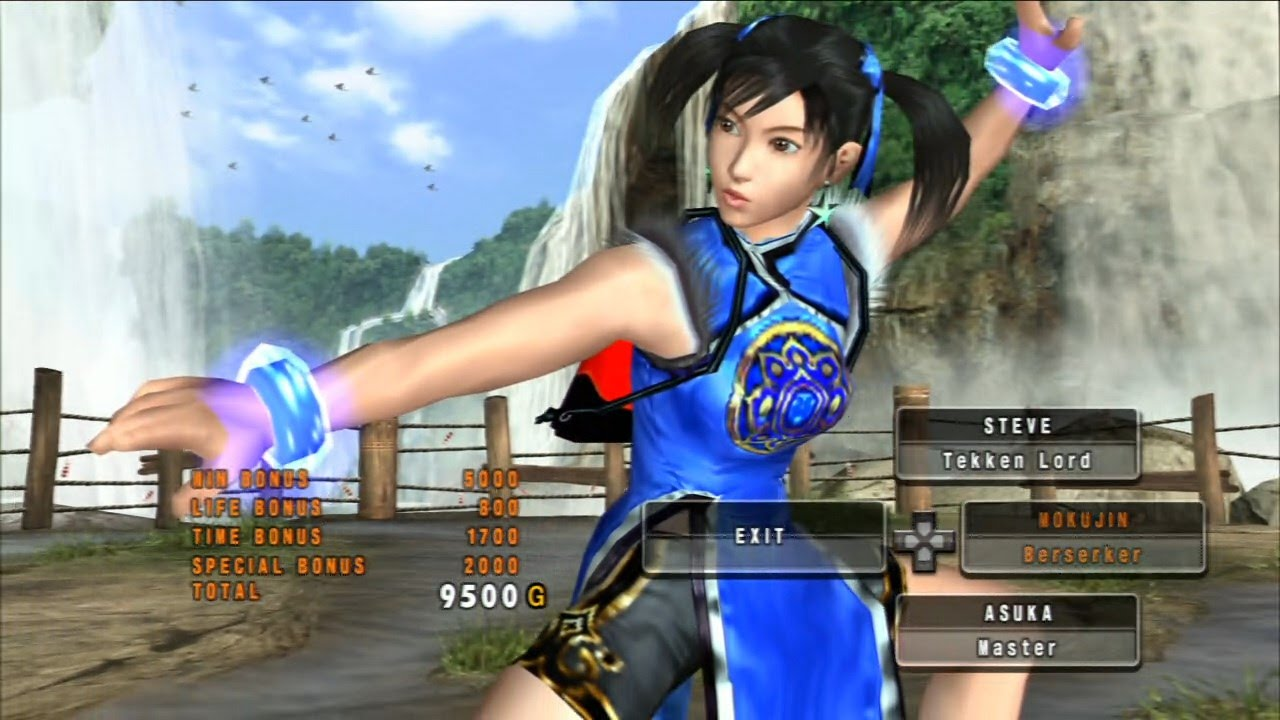 Tekken 5 Dark Ressurection: Ling Xiaoyu in Ghost Battles #2 [Playstation 3,  2007] - YouTube