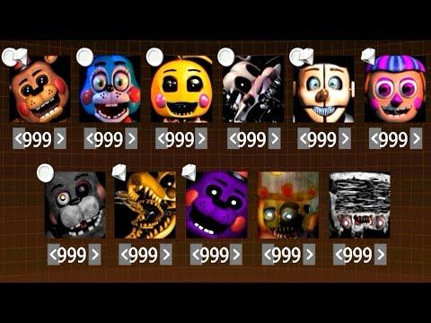 LEGENDARY 999 MODE!!.. FNaF Ultimate Edition 3