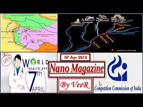 7 April 2018 - PIB, Yojana, AIR News-Nano Magazine-World Health Day, Char Dham- Current Affairs VeeR