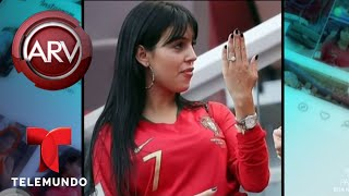 La novia de Cristiano Ronaldo presume lujoso anillo | Al Rojo Vivo | Telemundo
