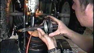 PART 1 HOW TO replace  friction Wheel Disc on MTD Snowblower