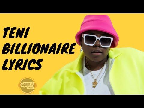 Teni - Billionaire (Lyrics)